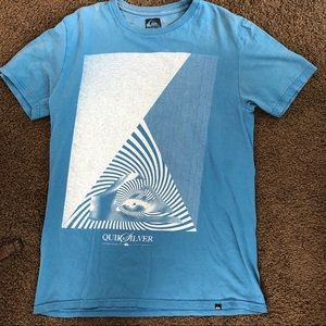 Men's Quicksilver Blue Graphic T-Shirt
